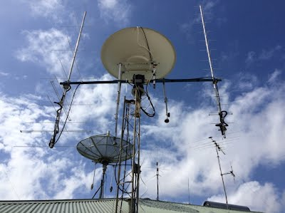 VK6MJ Antennas for Tracking the International Space Station.